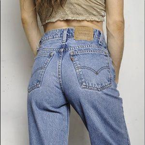 True Vintage 517 Levi's Jeans Orange Tab Unisex